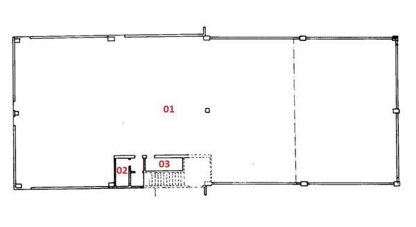 Immagine n2 - Planimetria - Piano terra - Asta 1961