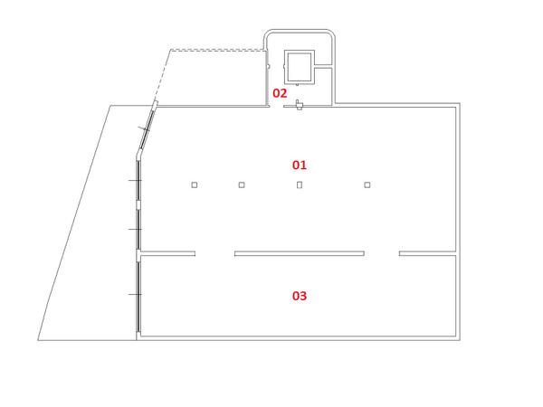 Immagine n2 - Planimetria - Piano Seminterrato - Asta 1969