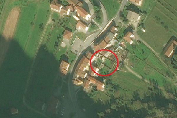 Immagine n2 - Planimetria - Vista aerea - Asta 1971