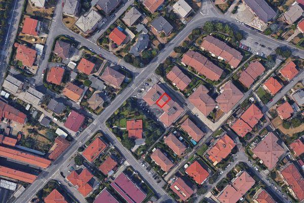 Immagine n0 - Planimetria - Vista aerea - Asta 1972