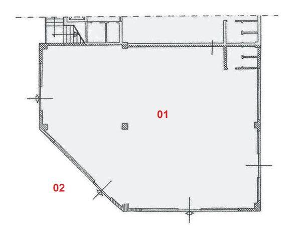 Immagine n2 - Planimetria - Piano terra - Asta 2001