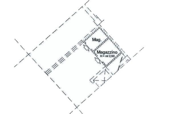 Immagine n0 - Planimetria - Piano terra - Asta 2002