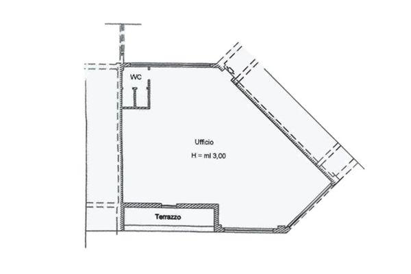Immagine n0 - Planimetria - Piano primo - Asta 2003