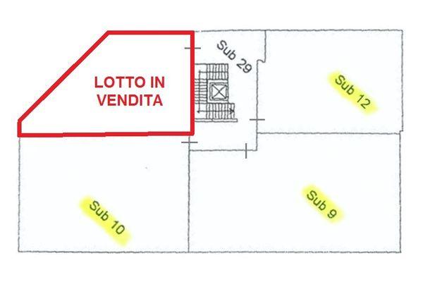 Immagine n2 - Planimetria - Lotto in vendita - subalterno 11 - Asta 2006