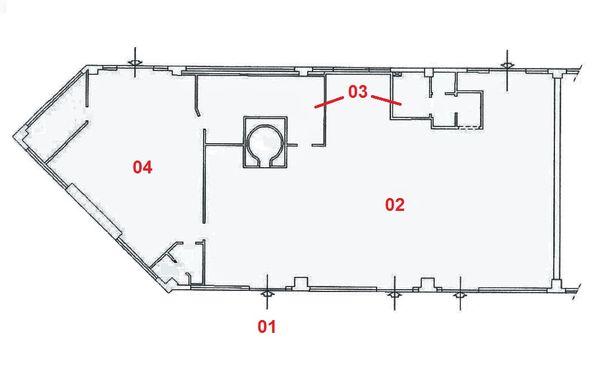 Immagine n4 - Planimetria - Piano terra - Asta 2011