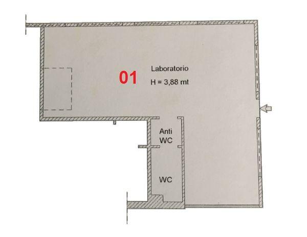 Immagine n0 - Planimetria - Piano primo - Asta 2013