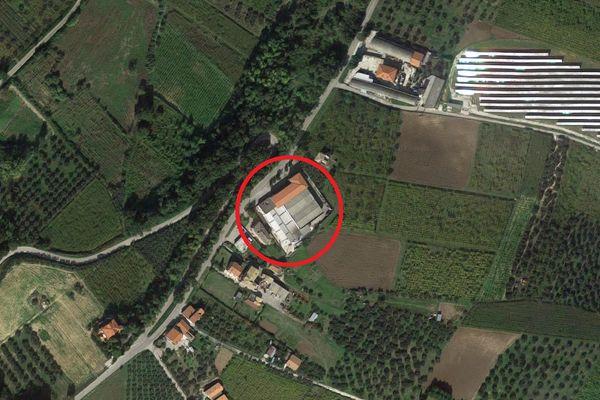 Immagine n1 - Planimetria - Vista aerea - Asta 2029