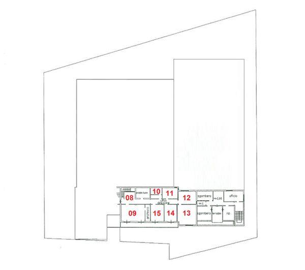 Immagine n7 - Planimetria - Piano primo - Asta 2029