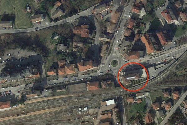 Immagine n0 - Planimetria - Vista aerea - Asta 2033