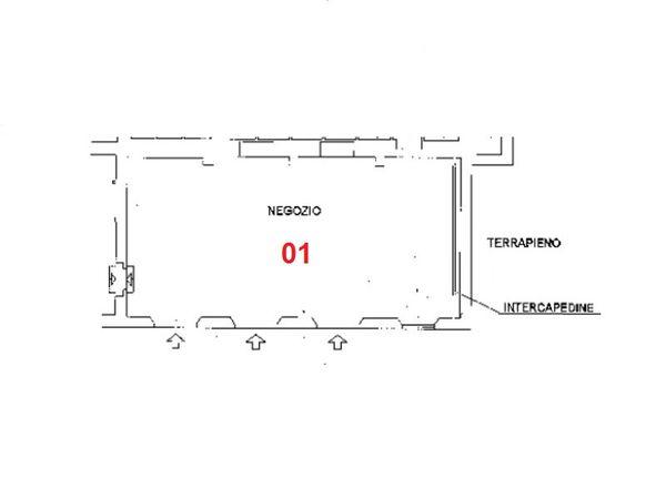 Immagine n0 - Planimetria - Piano terra - Asta 2033