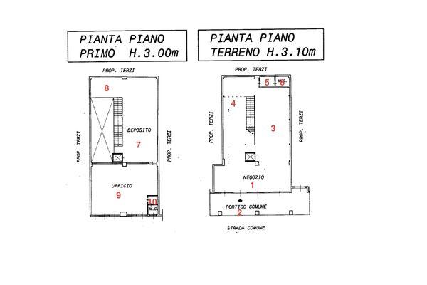 Immagine n3 - Planimetria - Planimetria Virtual Tour - Asta 2037