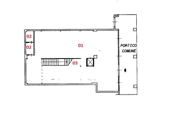 Immagine n2 - Planimetria - Piano terra - Asta 2037
