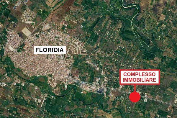 Immagine n0 - Planimetria - Vista aerea - Asta 2038