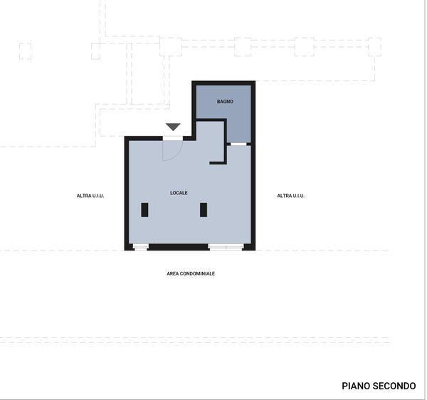 Immagine n2 - Planimetria - Piano secondo - Asta 2040