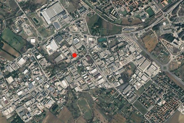 Immagine n0 - Planimetria - Vista aerea - Asta 2052