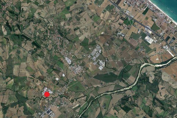 Immagine n0 - Planimetria - Vista aerea - Asta 2057