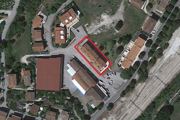 Immagine n1 - Planimetria - Vista aerea - Asta 2081