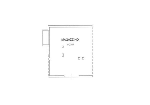 Immagine n0 - Planimetria - Piano interrato - Asta 2081