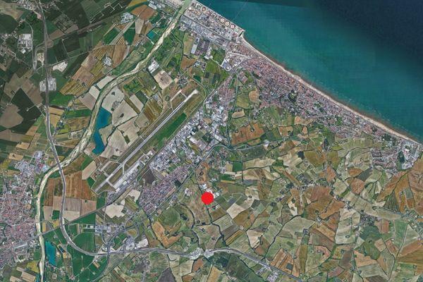 Immagine n0 - Planimetria - Vista aerea - Asta 2090