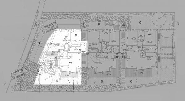 Immagine n4 - Planimetria - Piano terra - Asta 215