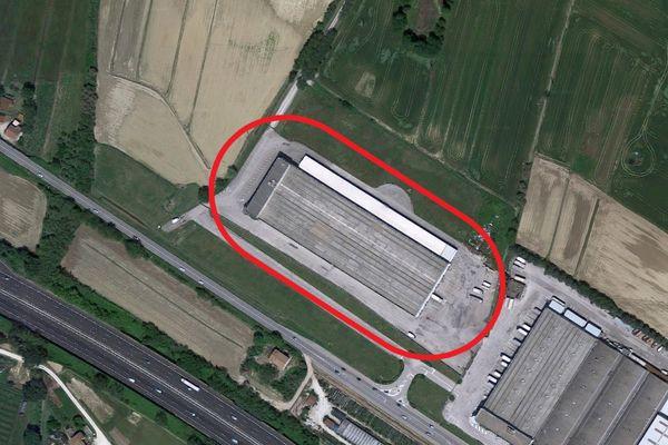 Immagine n0 - Planimetria - Vista aerea - Asta 2159