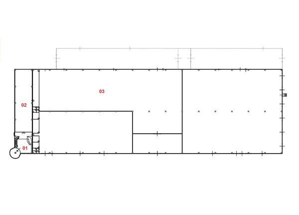 Immagine n2 - Planimetria - Piano terra - Asta 2159