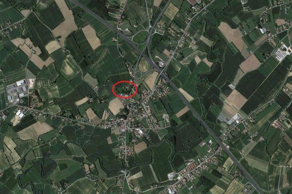 Immagine n3 - Planimetria - Vista aerea - Asta 2165