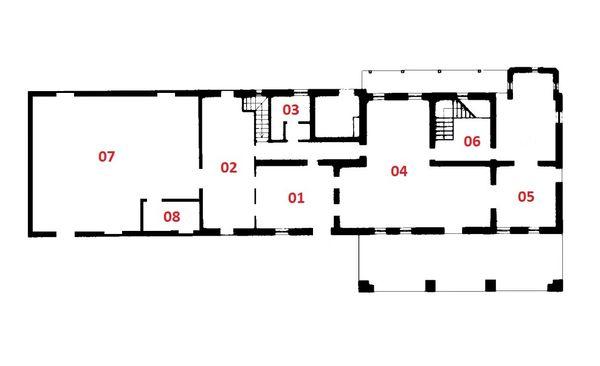 Immagine n7 - Planimetria - Piano terra - Asta 2165