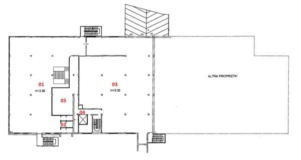 Immagine n4 - Planimetry - First floor - Asta 2185