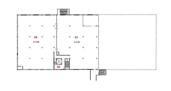 Immagine n2 - Planimetry - Second floor - Asta 2185