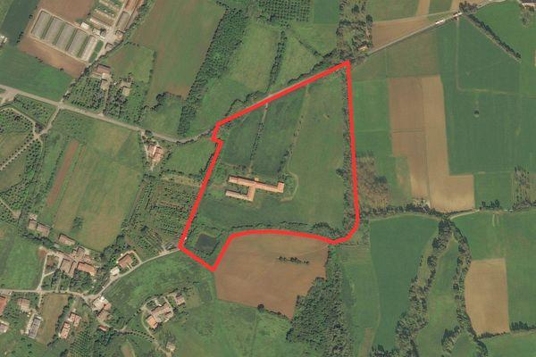 Immagine n0 - Planimetria - Vista aerea - Asta 2188