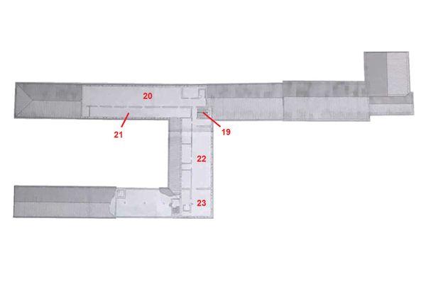 Immagine n0 - Planimetria - Piano secondo - Asta 2188