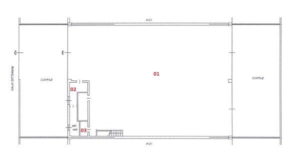 Immagine n0 - Planimetry - Ground floor - Asta 2194
