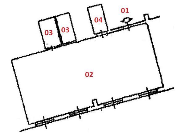 Asta 2199 ufficio al secondo piano con posto auto sub 878 for Ufficio discount