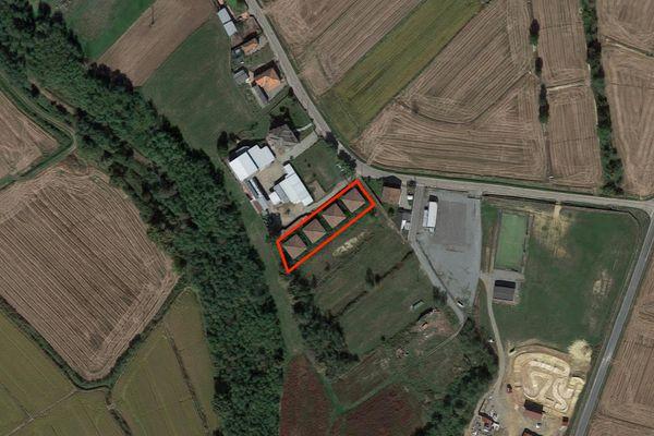 Immagine n0 - Planimetria - Vista aerea - Asta 2221