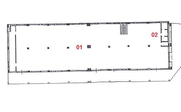 Immagine n1 - Planimetry - Ground floor - Asta 2226
