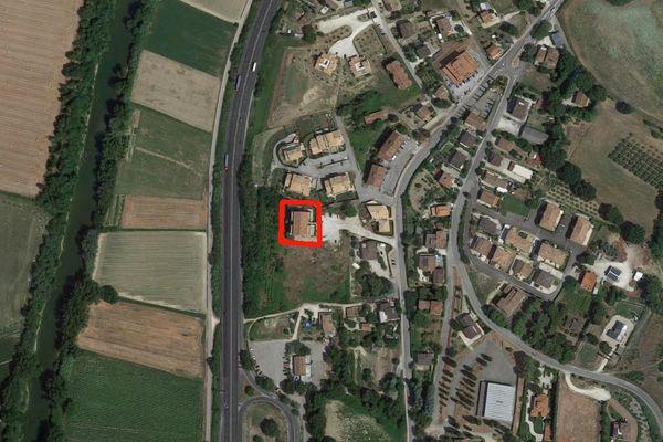 Immagine n0 - Planimetria - Vista aerea - Asta 2238