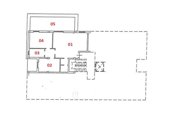 Immagine n4 - Planimetria - Piano terzo - Asta 2238