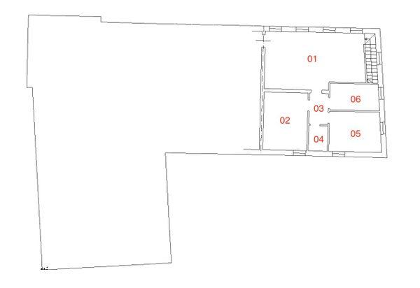 Immagine n5 - Planimetria - Piano terra - Asta 2250