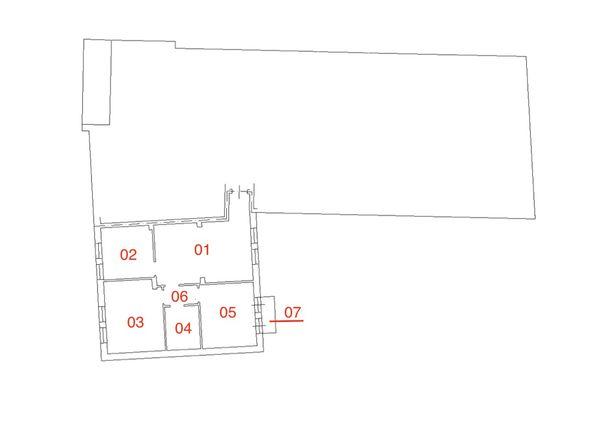 Immagine n6 - Planimetria - Piano secondo - Asta 2251