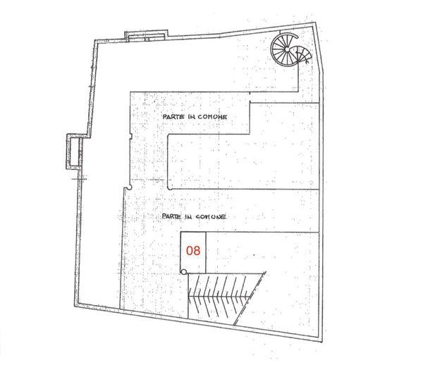 Immagine n0 - Planimetria - Piano interrato - Asta 2251