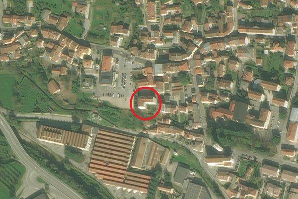 Immagine n1 - Planimetria - Vista aerea - Asta 2252