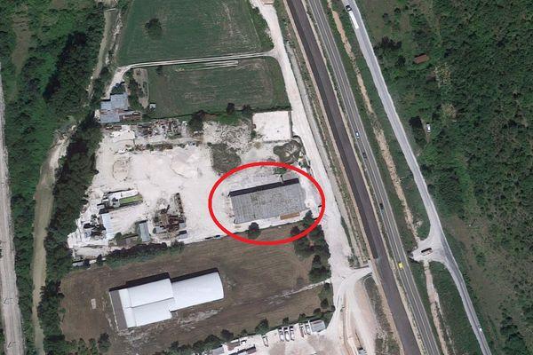 Immagine n0 - Planimetria - Vista aerea - Asta 2292