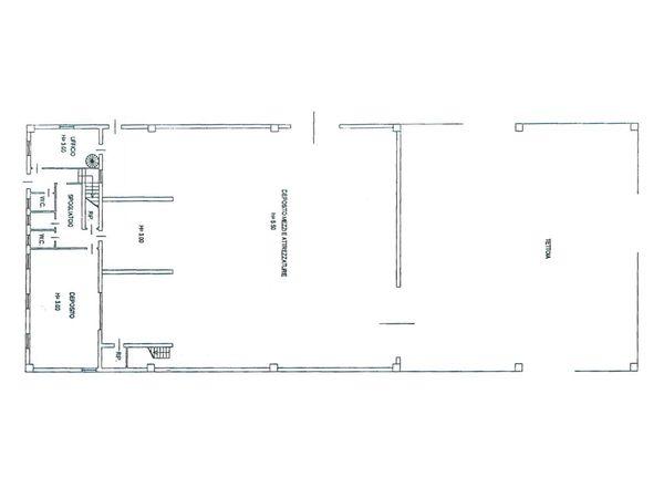 Immagine n3 - Planimetria - Piano terra - Asta 2292