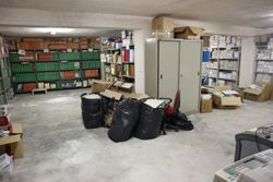 Warehouse in the basement. Lot   - Lot 2296 (Auction 2296)