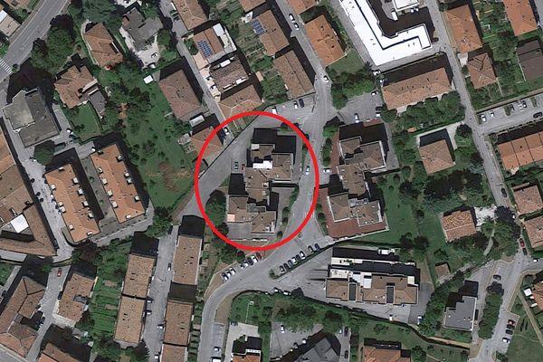Immagine n1 - Planimetria - Vista aerea - Asta 2297