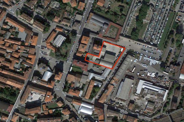Immagine n0 - Planimetria - Vista aerea - Asta 2481