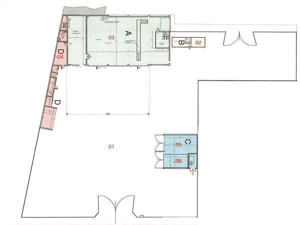 Immagine n5 - Planimetria - Piano terra - Asta 2481