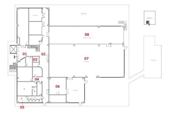 Immagine n7 - Planimetry - Ground floor - Asta 2502