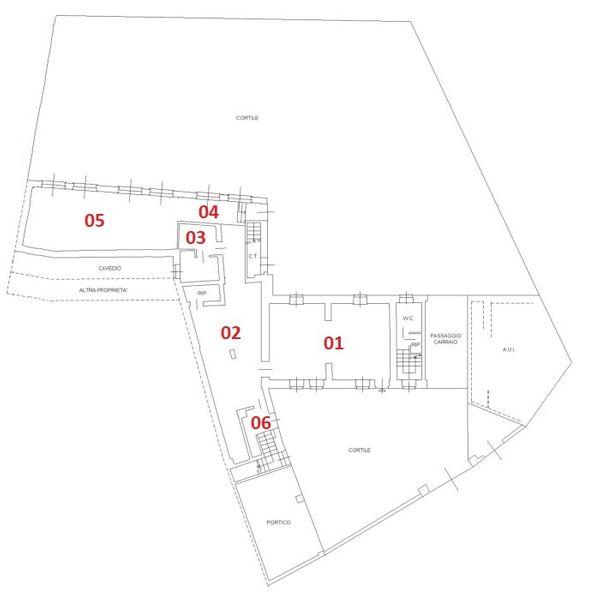 Immagine n0 - Planimetria - Piano terra - Asta 2509